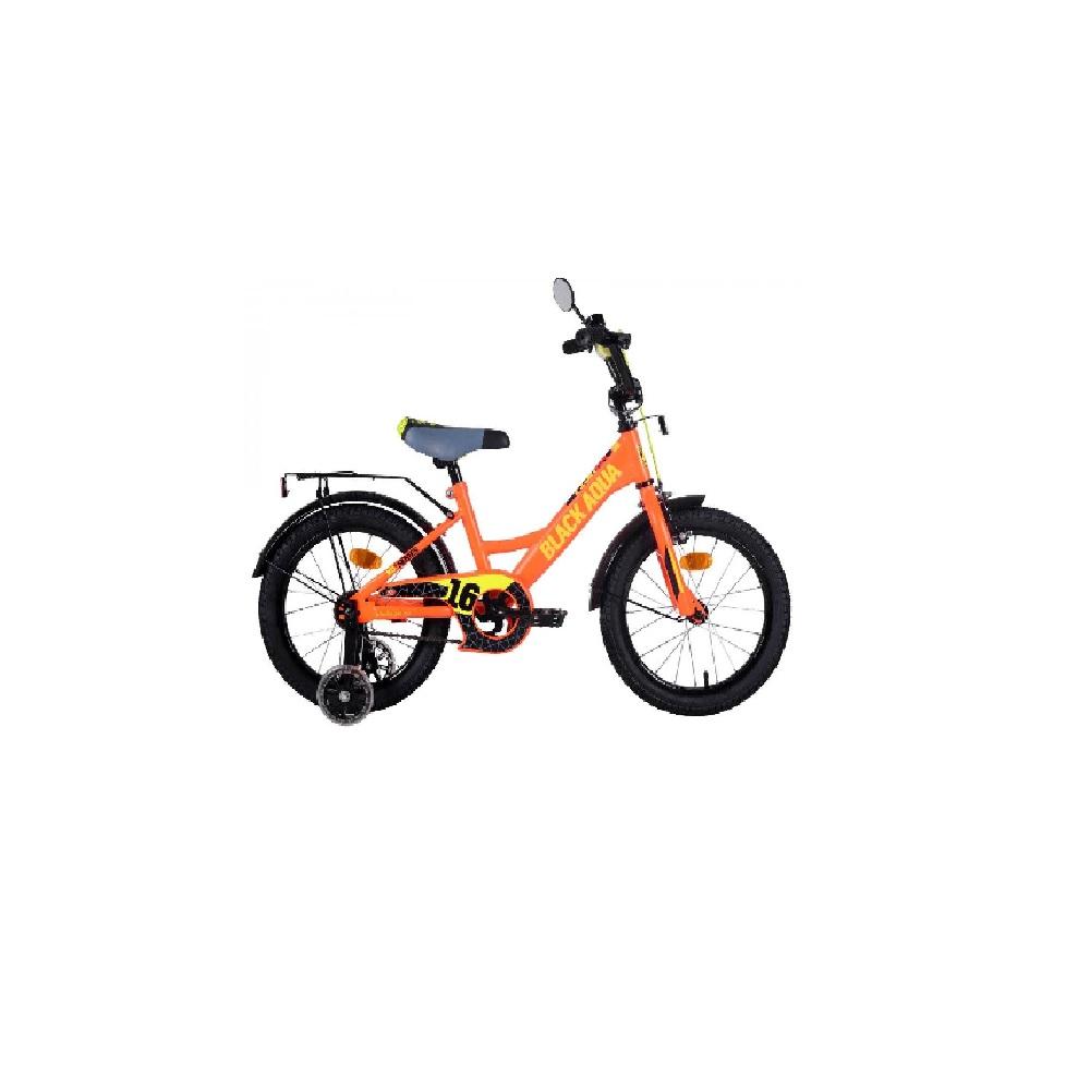 Детский  Велосипед BlackAqua Fishka 16″, MATT