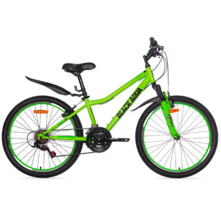 """Горный велосипед BLACK AQUA Cross 1431 V 24"""""""